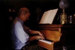 Frans van Dalen op de Erard van Maurice Ravel